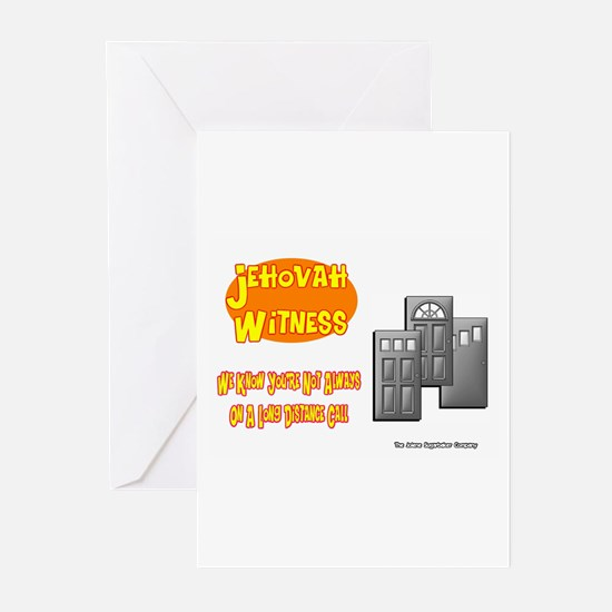 Jehovah Witness Pro Greeting Cards (Pk of 10)