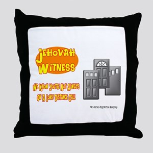 Jehovah Witness Pro Throw Pillow