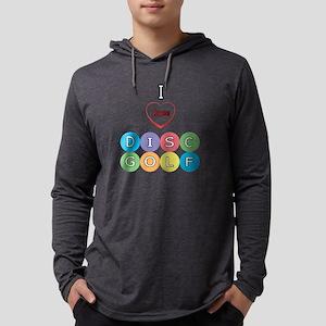 I Love Disc Golf Long Sleeve T-Shirt