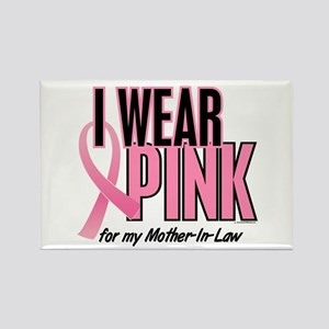 I Wear Pink For My Mother-In-Law 10 Rectangle Magn
