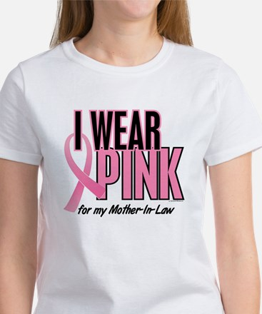 I Wear Pink For My Mother-In-Law 10 Women's T-Shir