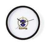BEAUDOIN Family Crest Wall Clock