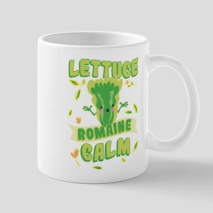 Lettuce Romaine Calm 11 oz Ceramic Mug