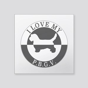 P.B.G.V. Sticker