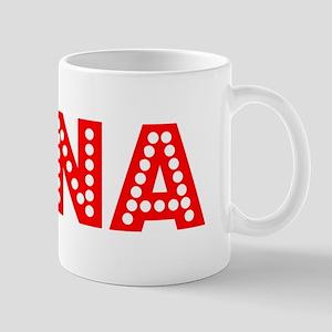 Retro Gina (Red) Mug