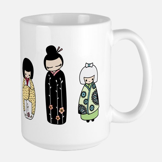 Kokeshi Large Mug