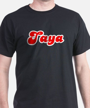 Retro Taya (Red) T-Shirt