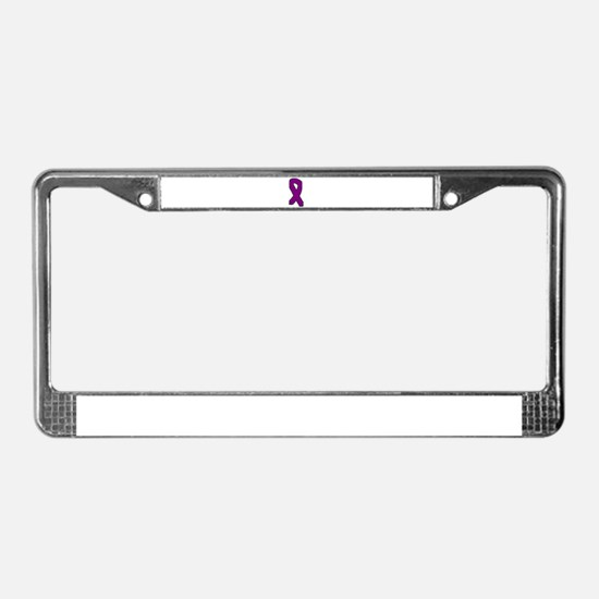 Purple License Plate Frame