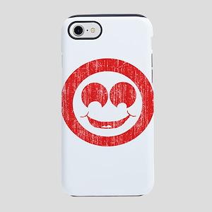 Vintage white smiley 1a iPhone 8/7 Tough Case