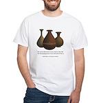 2 Corinthians 4:7 White T-Shirt