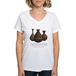 2 Corinthians 4:7 Women's V-Neck T-Shirt
