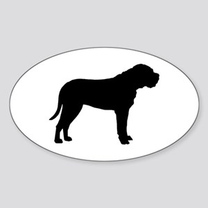 Bullmastiff Dog Breed Oval Sticker