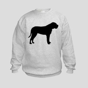 Bullmastiff Dog Breed Kids Sweatshirt