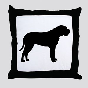 Bullmastiff Dog Breed Throw Pillow