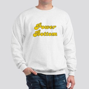 Retro Power Bottom (Gold) Sweatshirt