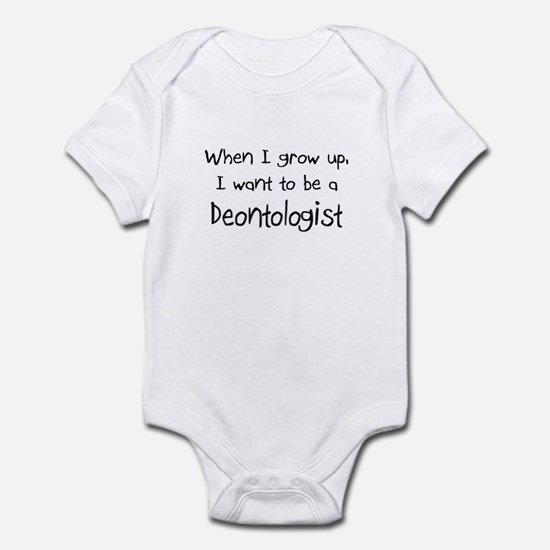 When I grow up I want to be a Deontologist Infant