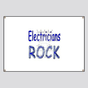 Electricians Rock Banner