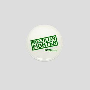 Brazilian fighter Mini Button