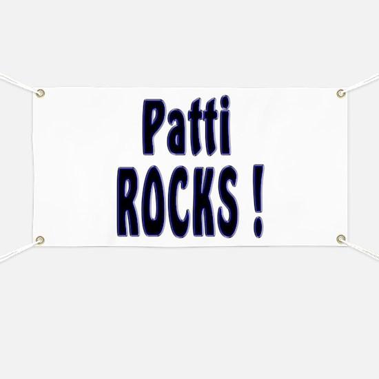 Patti Rocks ! Banner