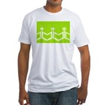 Paper Dolls Fitted T-Shirt (Green)