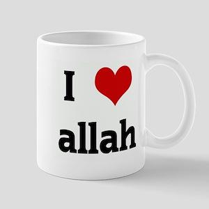 I Love allah Mug