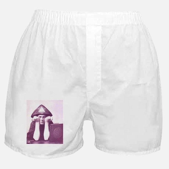 Aleister Crowley Boxer Shorts