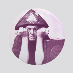 Aleister Crowley Ornament (Round)
