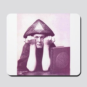 Aleister Crowley Mousepad