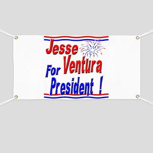 Ventura for President Banner