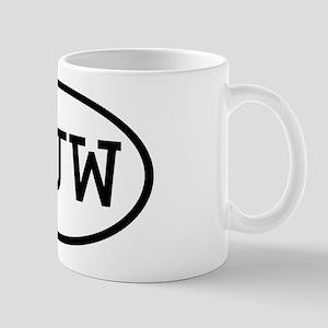 SJW Oval Mug