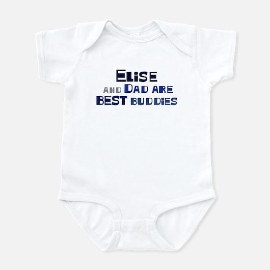 Elise and dad Infant Bodysuit