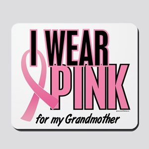 I Wear Pink For My Grandmother 10 Mousepad