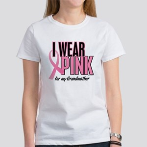 I Wear Pink For My Grandmother 10 Women's T-Shirt
