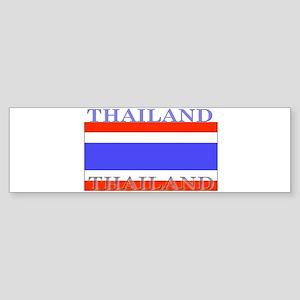 Thailand Thai Flag Bumper Sticker