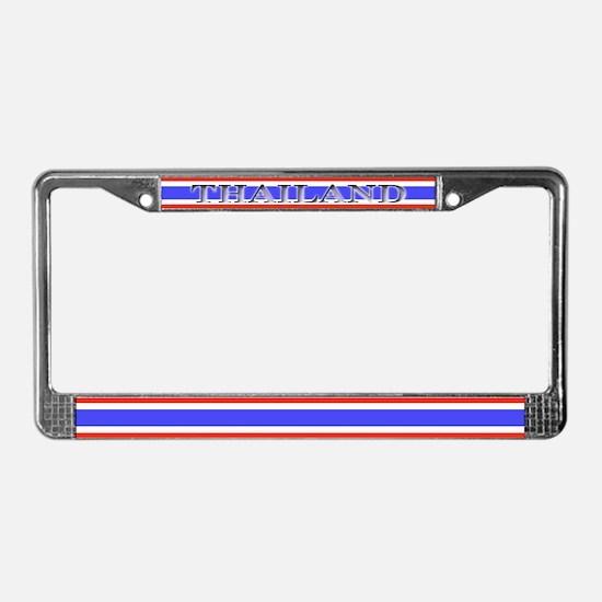 Thailand Thai Flag License Plate Frame