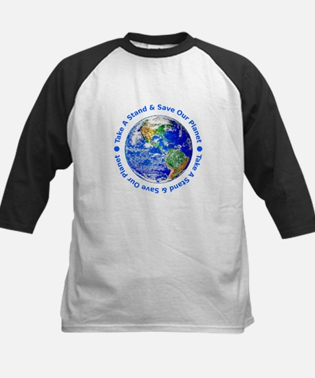 Save Our Planet! Kids Baseball Jersey
