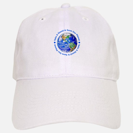 Save Our Planet! Baseball Baseball Cap