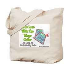 Bingo Caller Balls Tote Bag