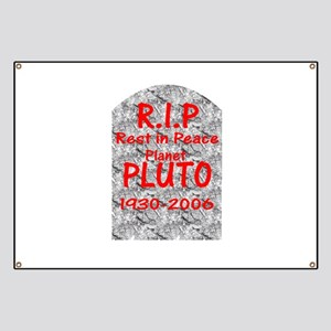 save pluto banners cafepress