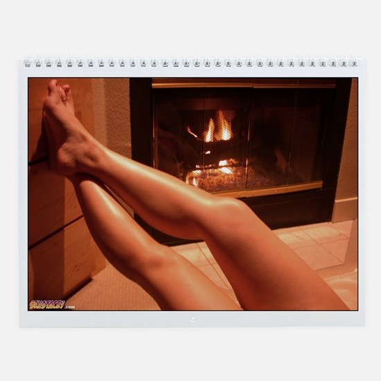 Naked Legs HOT Girls Sexy Women Wall Calendar