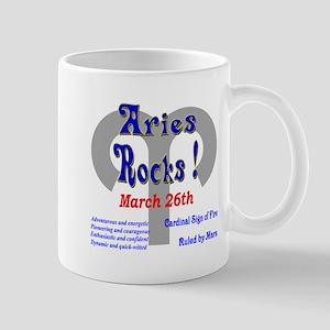 Aries March 26th Mug