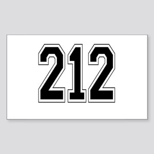 212 Rectangle Sticker