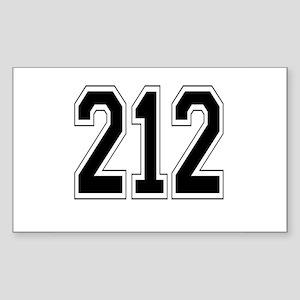 212 Rectangle Sticker