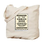 Comics Geek Association Tote Bag