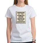 Comics Geek Association Women's T-Shirt