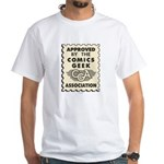 Comics Geek Association White T-Shirt