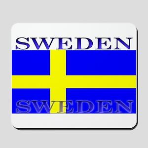 Sweden Swedish Flag Mousepad