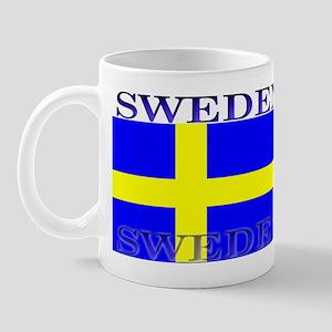 Sweden Swedish Flag Mug