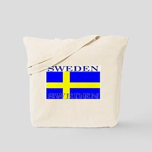 Sweden Swedish Flag Tote Bag