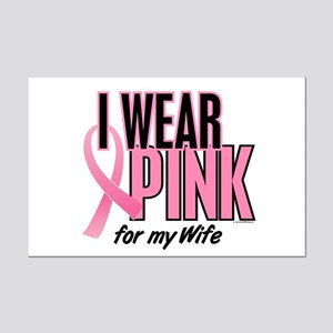 I Wear Pink For My Wife 10 Mini Poster Print